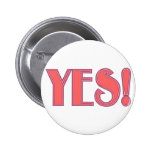 Yes! Pinback Button