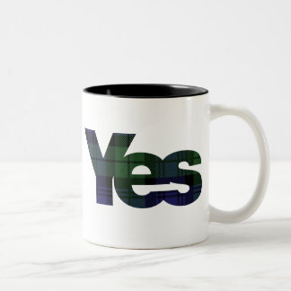 Yes Scotland Scottish Independence 2014 mug