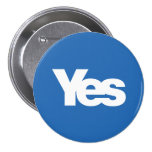 Yes Scotland Scottish Independence 2014 Pin