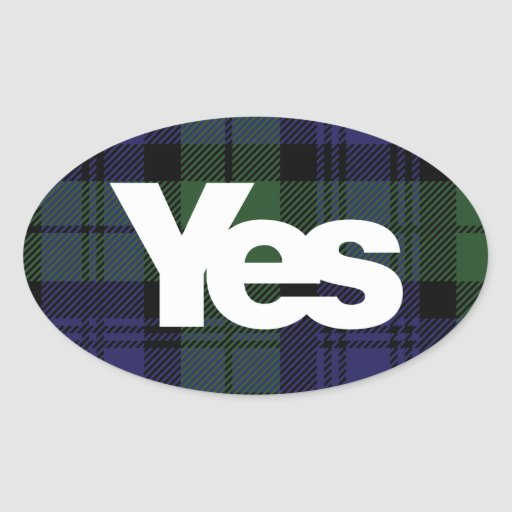 Yes Scotland Scottish Independence 2014 sticker