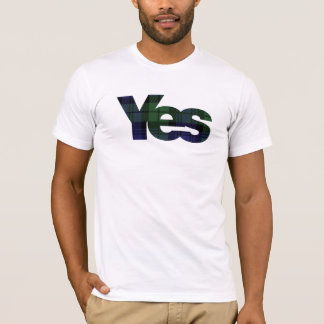 Yes Scotland Scottish Independence 2014 T-Shirt