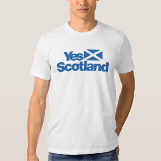 Yes Scotland Scottish Independence 2014 T Shirts