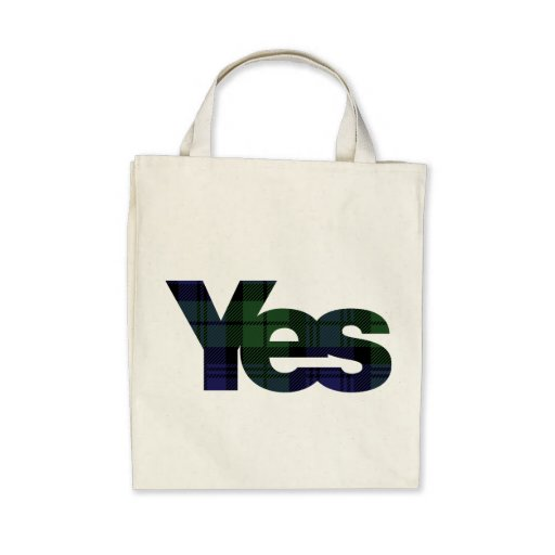Yes Scotland Scottish Independence 2014 tote Tote Bag