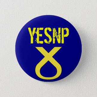 Yes Scotland Vote SNP Badge