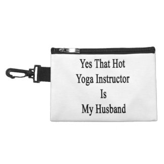 Yes That Hot Yoga Instructor Is My Husband Accessory Bag