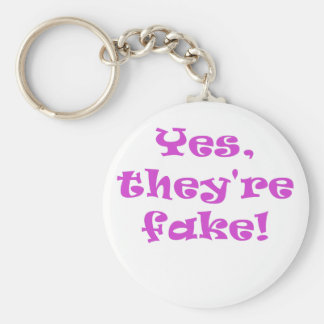Yes They re Fake Key Chain