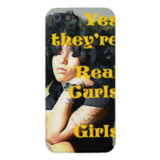 Yes they're Real Curls Girls iPhone 5 Case