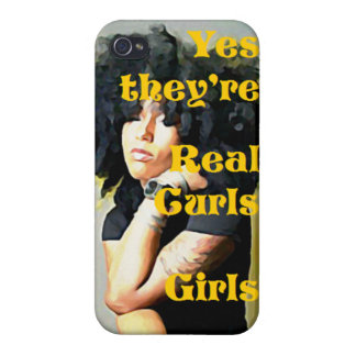 Yes they're Real Curls Girls iPhone Case iPhone 4/4S Covers