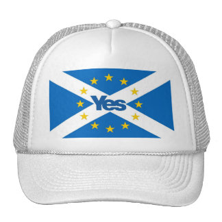 Yes to Independent European Scotland Cap