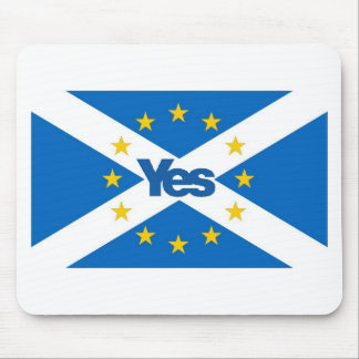 Yes to Independent European Scotland Mouse Pad