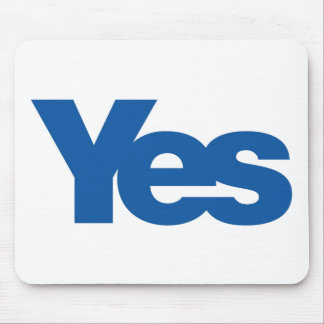 Yes to Independent Scotland Mouse Pad
