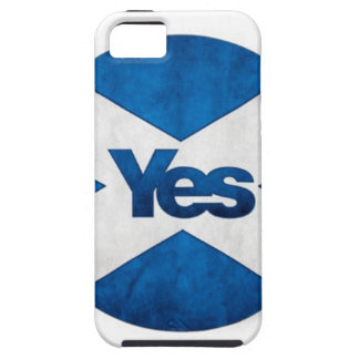 Yes to Independent Scotland 'Saor Alba Go Bragh' iPhone 5 Cover