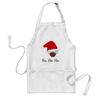 Yes, Virginia, There is a Black Santa Claus Standard Apron