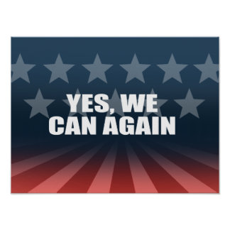 YES, WE CAN AGAIN PRINT