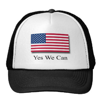 Yes We Can - American Flag Cap
