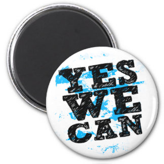 Yes We Can Barack Obama Magnet