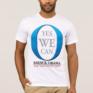 YES WE CAN - BARACK OBAMA T-Shirt