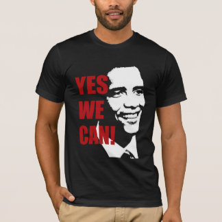 Yes We Can Barack Obama t shirt