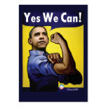 Yes We Can! Gift Tags Business Card Template