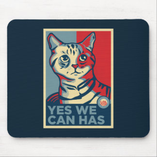 Yes We Can Has Mouse Mat