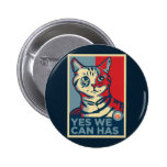 Yes We Can Has Pinback Button