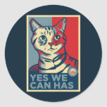 Yes We Can Has Stickers