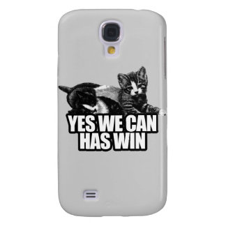 YES WE CAN HAS WIN.png Samsung Galaxy S4 Covers