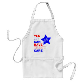 YES WE CAN HAVE HEALTH CARE APRONS