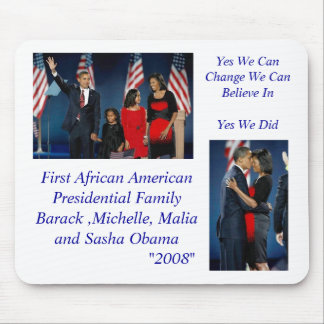 Yes We Can                          ... Mouse Mat