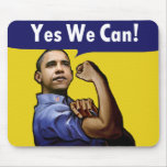 Yes We Can! Mousepad