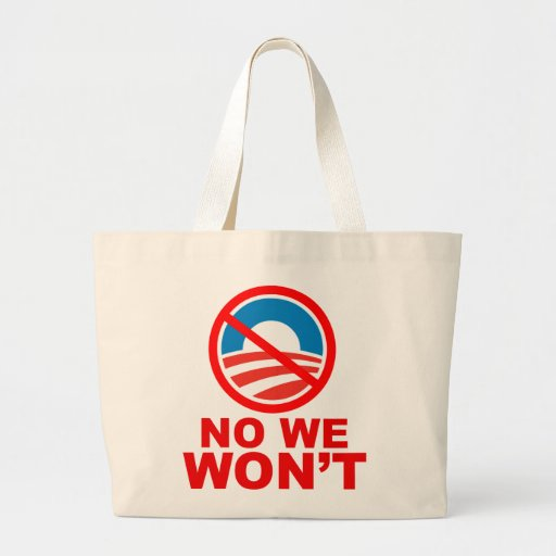Yes, we can! No, we won't! Bags