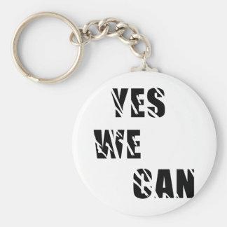 Yes We Can Obama Barack El Presidente Key Ring