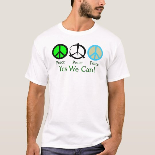 Yes We Can (Peace) T-Shirt
