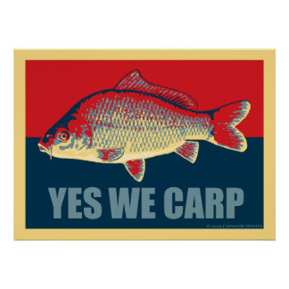 Yes We Carp poster