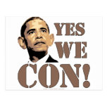 Yes we CON! Post Card
