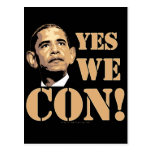 Yes we CON! Postcard