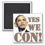 Yes we CON! Refrigerator Magnets
