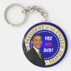Yes We Did Key ring