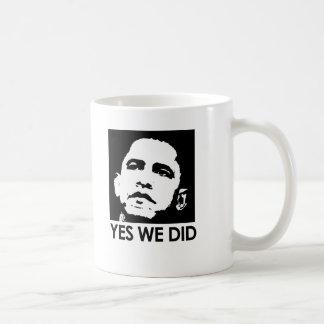 Yes we did mugs