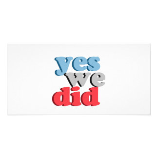 Yes we did T-shirt Photo Cards