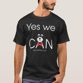 YES we DOG (Black) T-Shirt