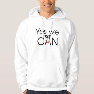 YES we DOG Hooded Sweatshirt