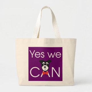 YES we DOG Large Tote Bag