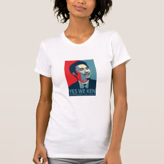 Yes We Ken (Obama) Woman's Distres... - Customized T-Shirt