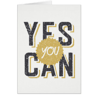 Yes You Can 3 Card