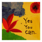 Yes You Can inspiration poster