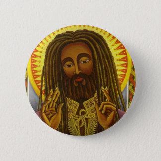 Yeshu Rasta Fari 6 Cm Round Badge