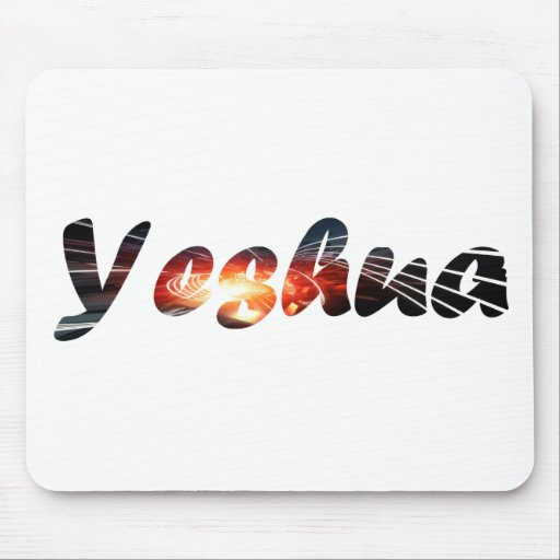 Yeshua 1 effet braise mouse pads