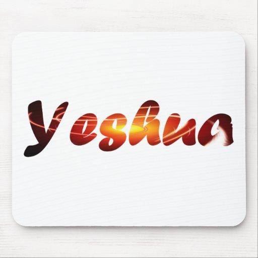 Yeshua 2 Effet lumièreTIF Mousepad