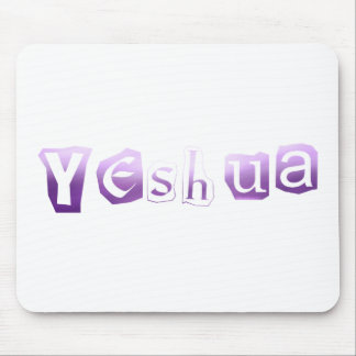 Yeshua Anonym Lilas TRANS PNG Mouse Pad